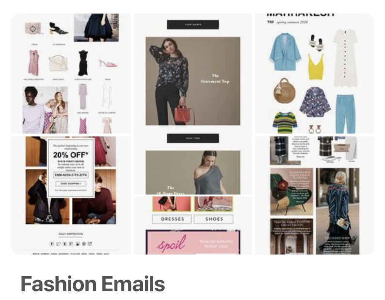 How Top Fashion Brands Use Email Marketing The Emailoctopus Blog