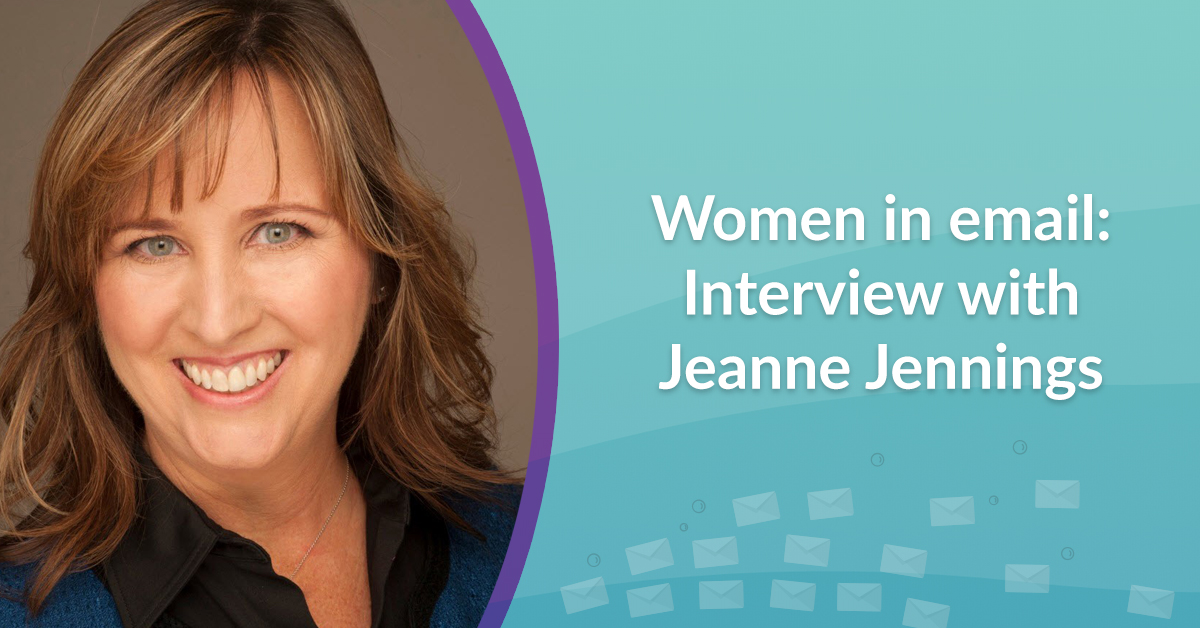 Women in email interview with Jeanne Jennings
