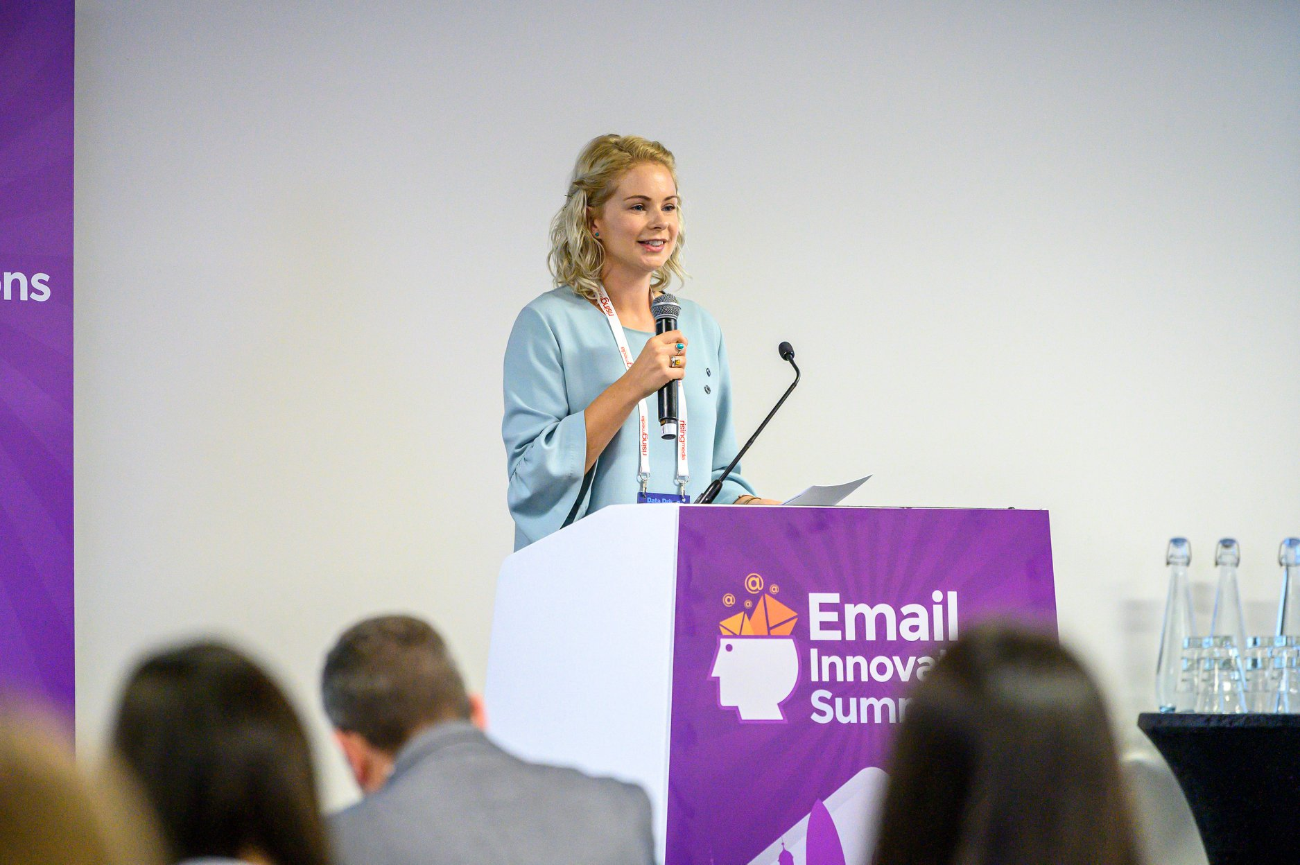 Jenna Tiffany speaking at the Email Innovations Summit