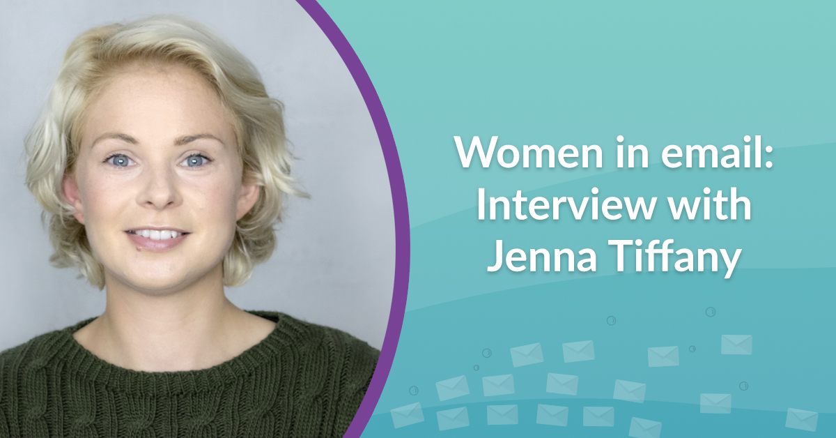 Women in email interview with Jenna Tiffany