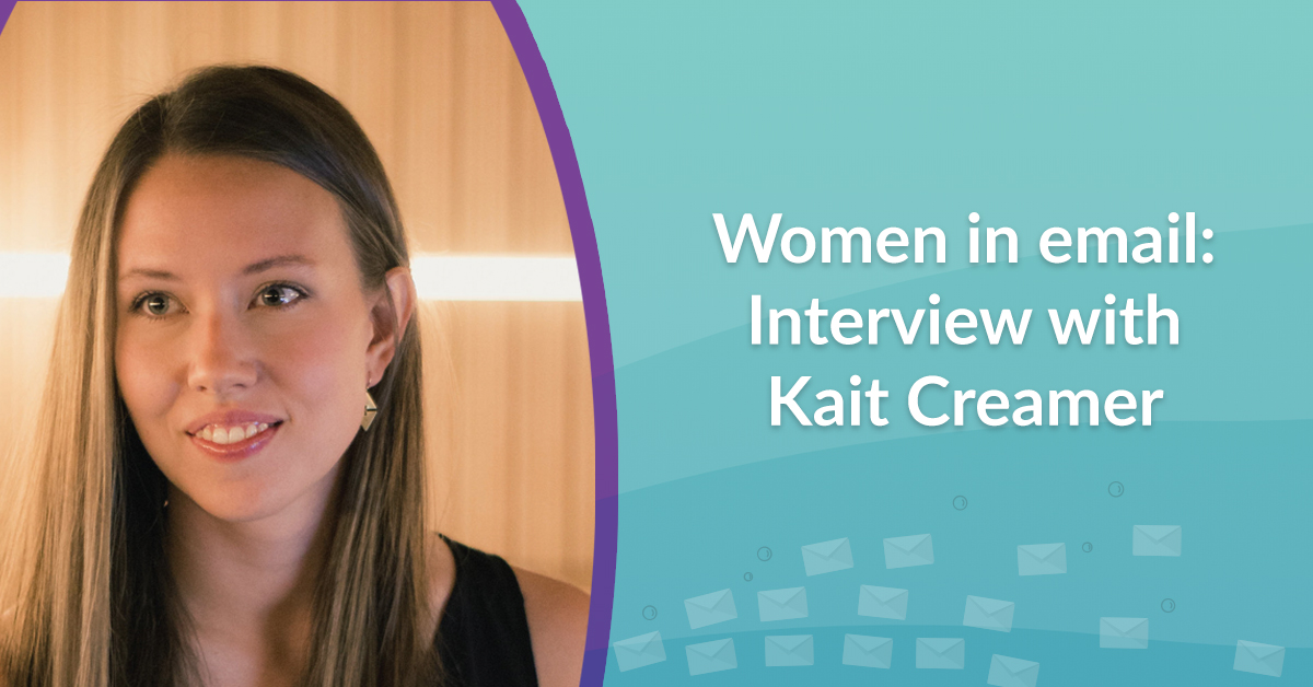 Women in email interview with Kait Creamer