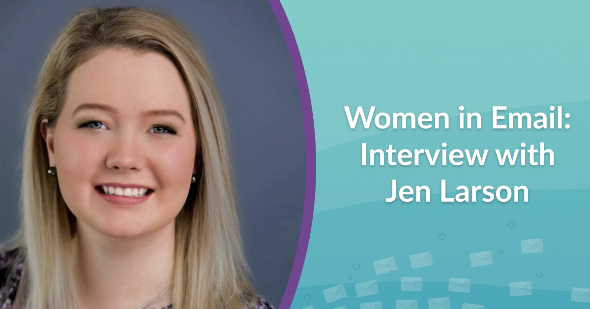 Women in email interview with Jen Larson