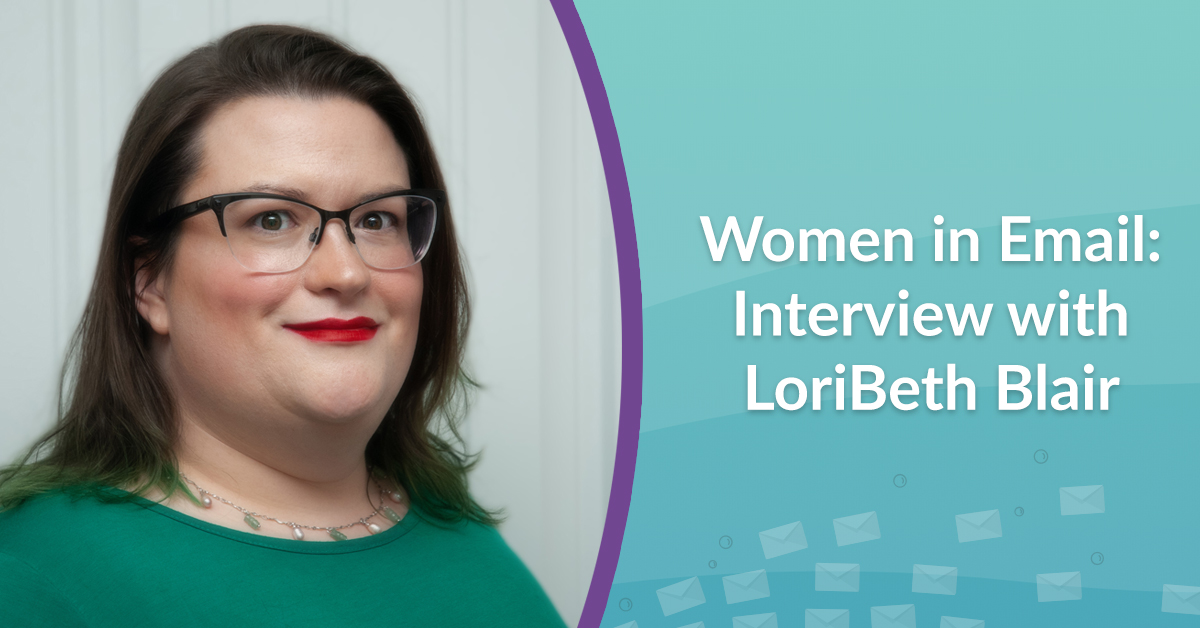 Women in email LoriBeth Blair interview