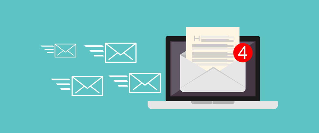 Illustration suggesting email deliverability