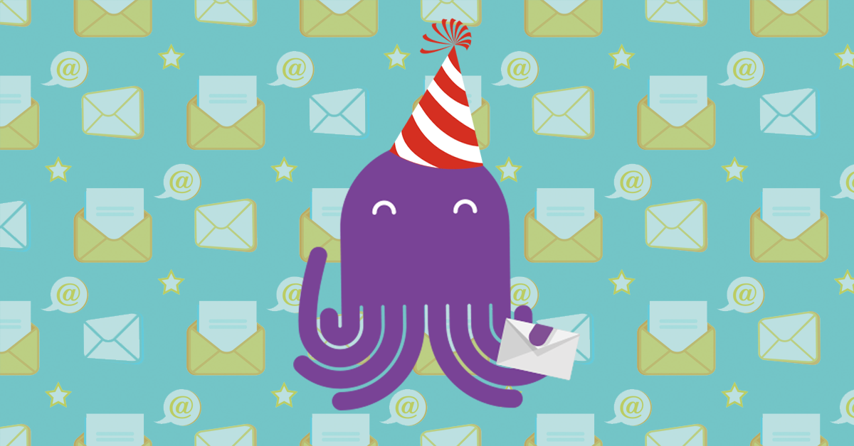 EmailOctopus celebrates the milestone of 10 billion emails sent