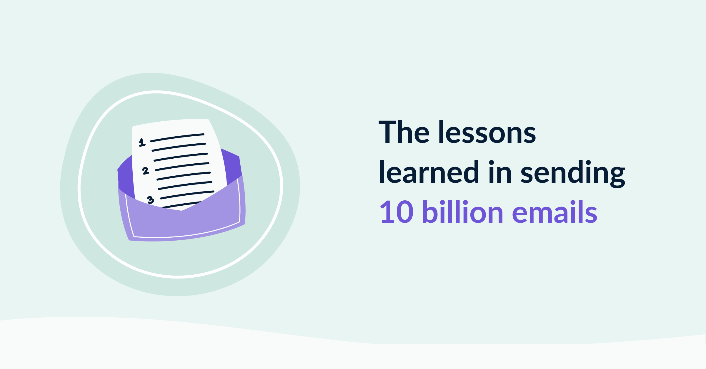 The lessons growing to 10 billion emails cover image
