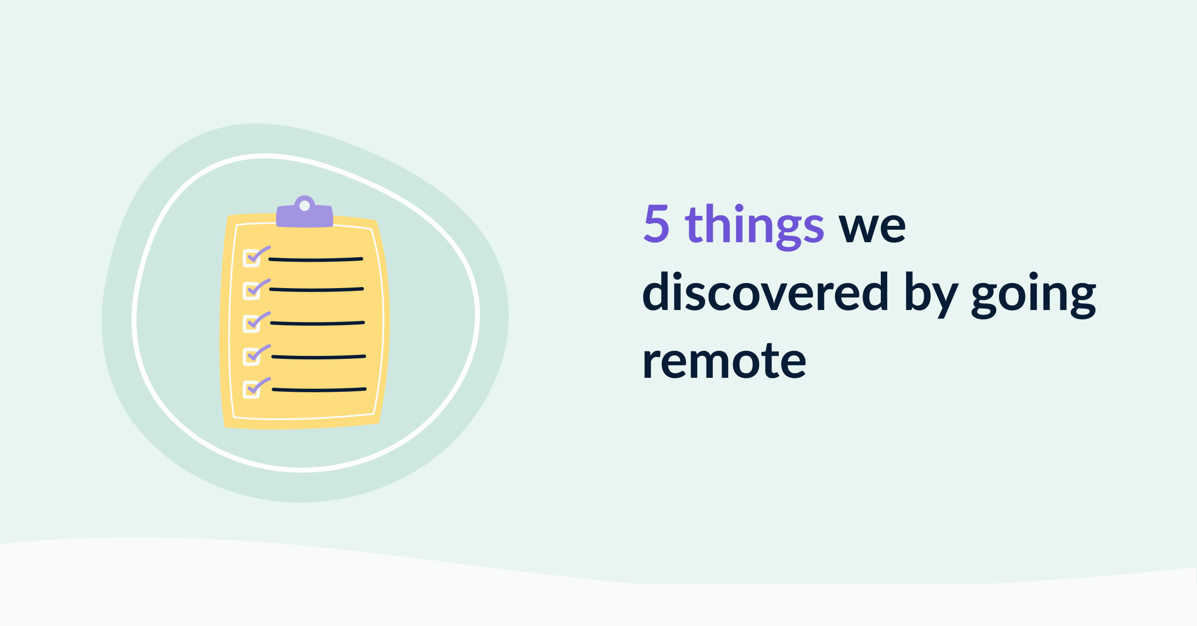 5 things we discovered at EmailOctopus by going remote cover image