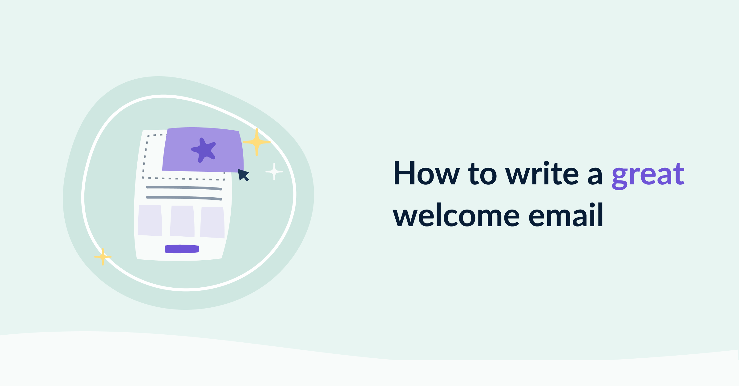 How to write a great welcome email cover image