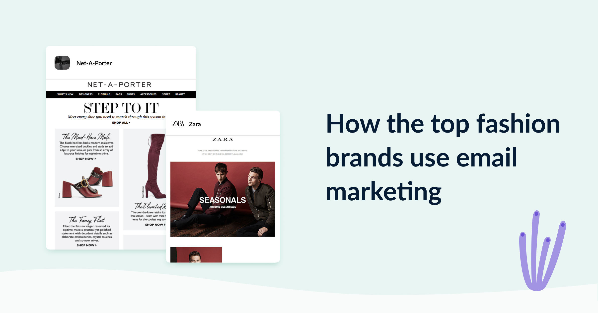 How top fashion brands use email marketing cover image