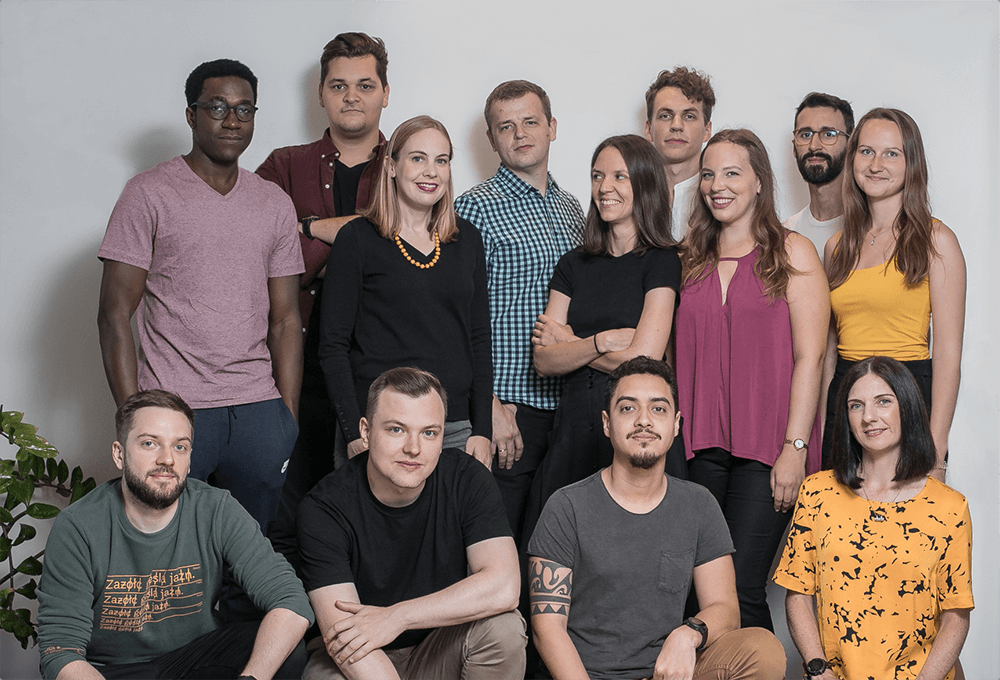 Photo of the team at Toggl Plan