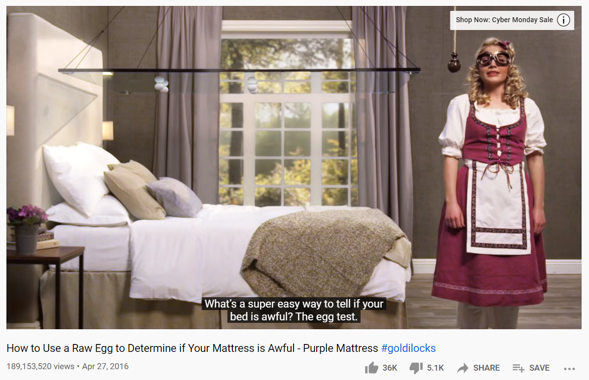 Screenshot of a marketing video produced by the Harmon Brothers Agency –another example of how to use humour in marketing campaigns
