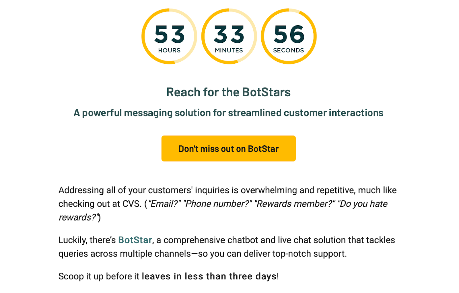An example of humour used in email marketing from SaaS brand AppSumo