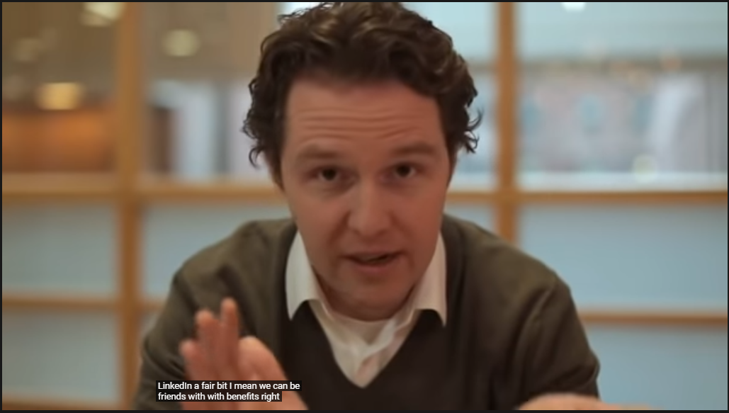 Screenshot from a video used in Hubspot's customer retention email campaign