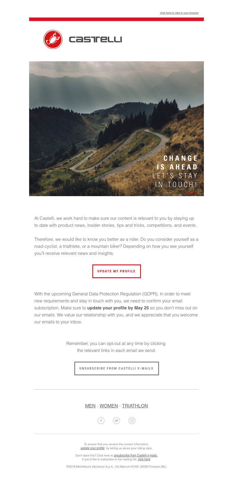 GDPR Emails – Look at that SaaS